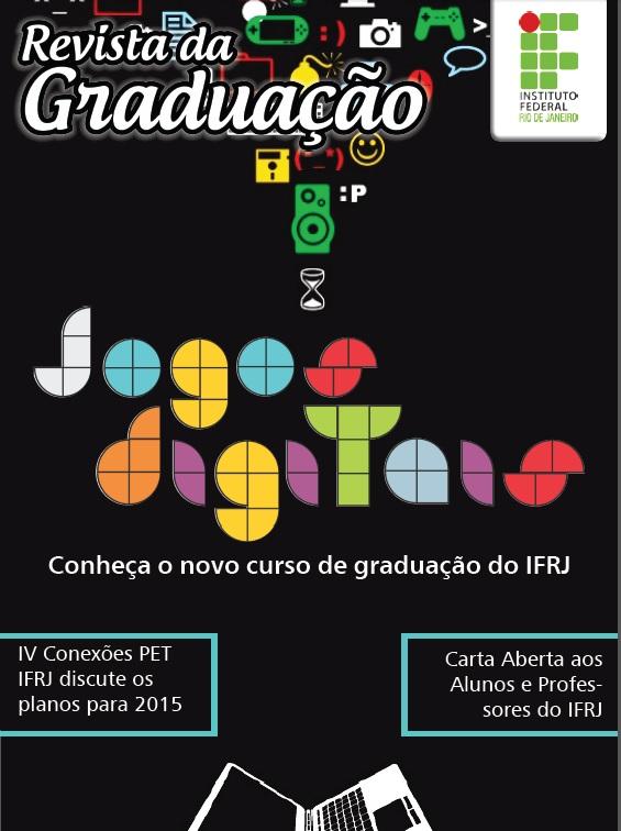 Capa da 2ª Edição da Revista Graduação