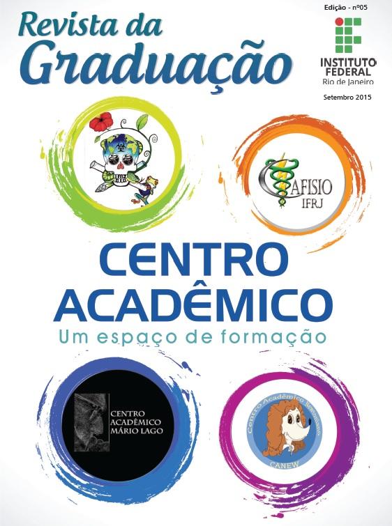 Capa da 5ª Edição da Revista Graduação