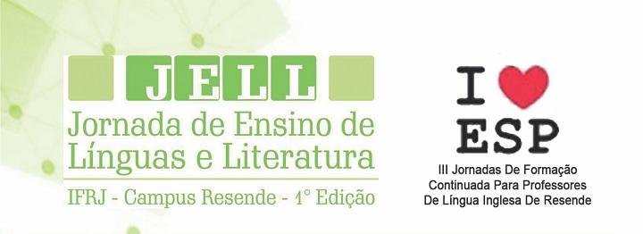 Imagem com a logo e o nome da jornada, escritas em verde