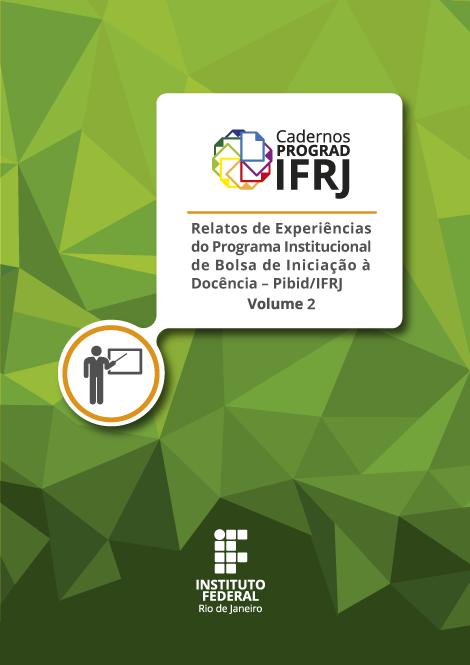 Capa do volume 2 dos Cadernos PROGRAD IFRJ