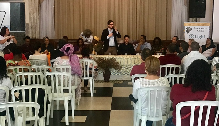reitor Rafael Almada no FLIDAM 2018
