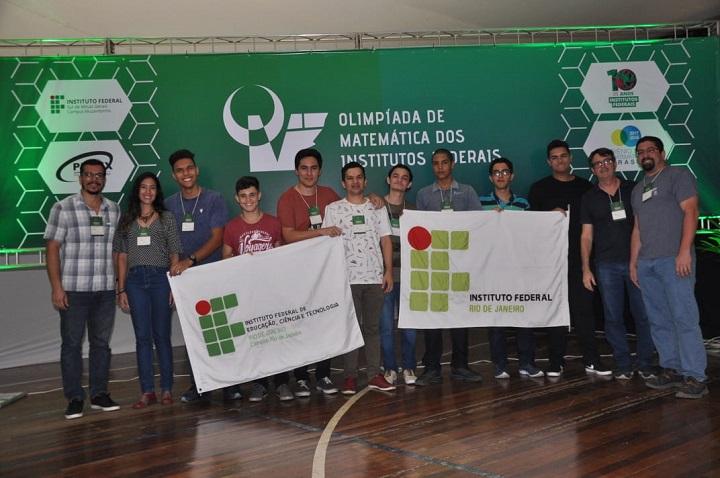 professores e alunos do IFRJ dos campi Rio de Janeiro, Arraial do Cabo e Duque de Caxias.