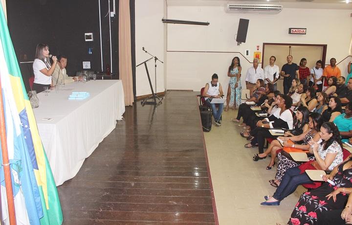 auditório campus Pinheiral lotado