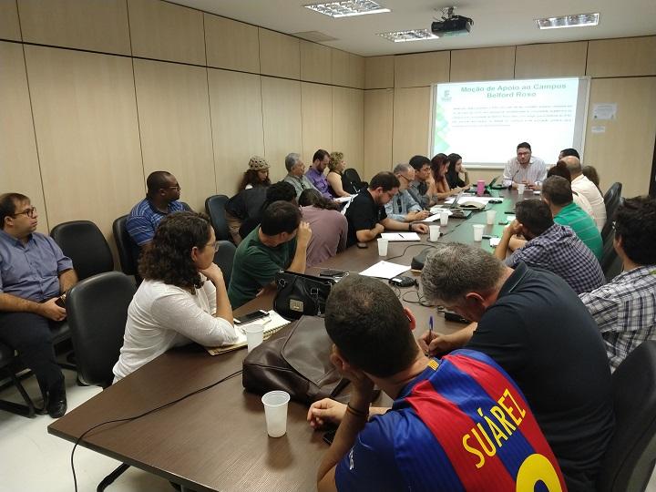 Foto da reunião do consup
