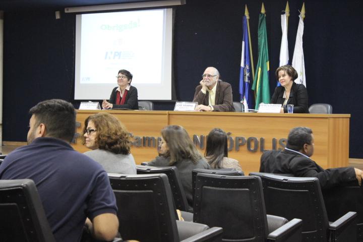 auditório do campus Nilópolis na XII JIT, VII Fórum ITE e II JPG
