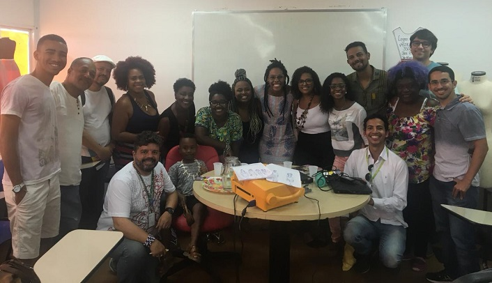 1º Sarau Afro-Indígena do campus Belford Roxo