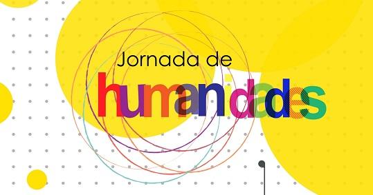 cartaz amarelo e branco, escrita colorida